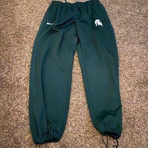 Nike Team Sweat Pants Michigan State